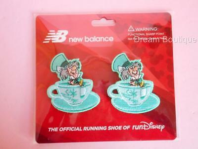 New Balance Run Disney 2017 Mad Tea Party Tea Cup Shoe Clip New