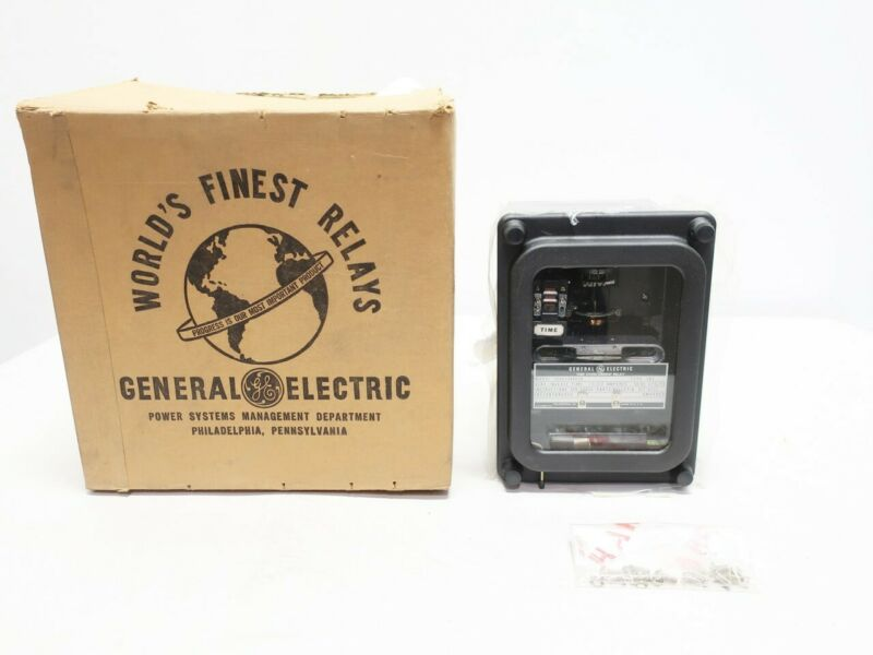 General Electric Ge 12IAC53A803A Type Iac 1.5-12a Amps Overcurrent Time Relay
