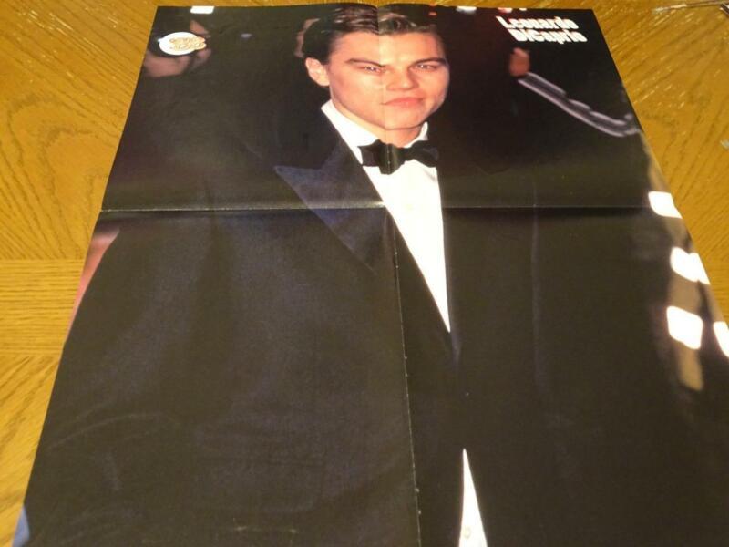 Hanson Leonardo Dicaprio teen magazine poster clipping MMMBOP 90