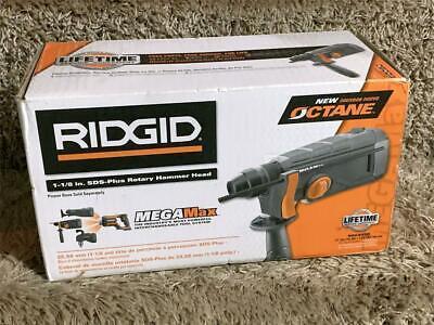 Ridgid 18v Octane Megamax 1-18 In. Sds-plus Rotary Hammer Attachment Head