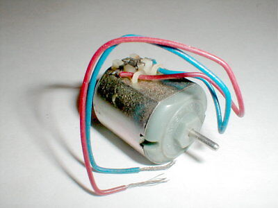 Best Motor 6 Volt Motor Vintage 1960s NOS Remote Control Boat or Slot Car (Best Slot Car Controller)