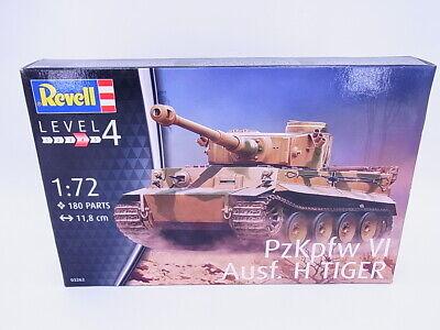 67004 Revell 03262 PzKpfw VI Ausf. H TIGER Panzer 1:72 Bausatz NEU OVP
