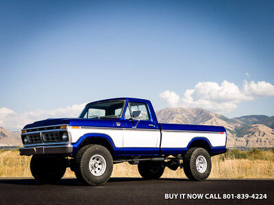 1977 Ford F 250 Ford F250 F 250 Ranger Xlt Highboy Custom Ranger 1977 Ford F 250 Ranger Xlt  Highboy Restored 4Wd  A C Cab  400Hp Rebuilt 400M V8