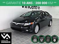 2012 Honda Civic EX **GARANTIE 10 ANS**