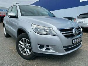 2009 Volkswagen Tiguan 5NC MY09 103 TDI Silver 6 Speed Tiptronic Wagon Hoppers Crossing Wyndham Area Preview
