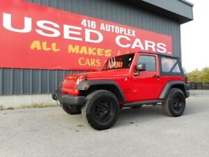 2016 Jeep Wrangler Sport Air Big Tires ONLY 6800KMS