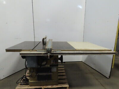 Powermatic Model 72a 7.5hp 14 Tilt Table Saw Wfence Blade Guard 208-230460v