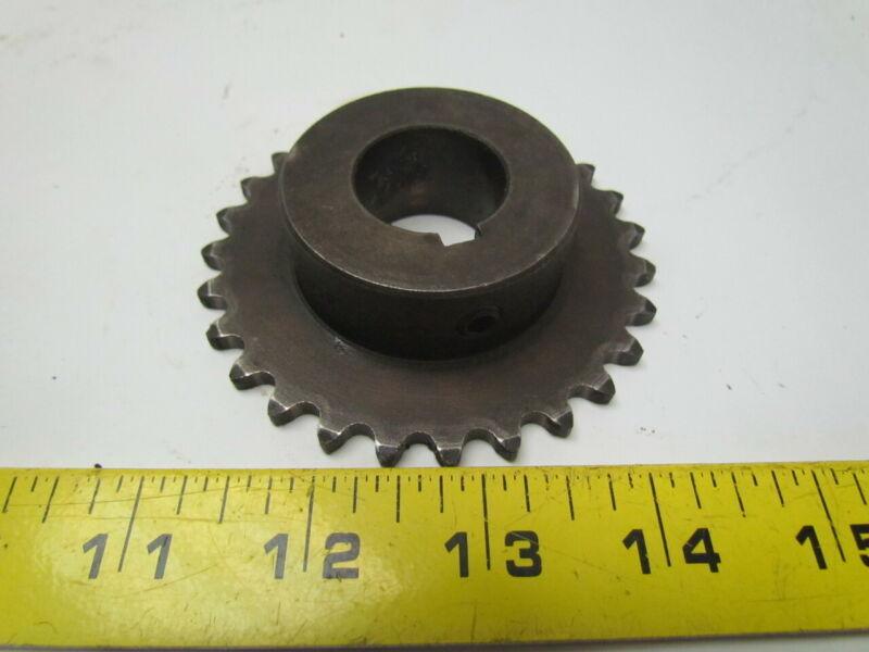 "Martin 35BS27 1 Sprocket single 35 standard roller chain B hub 27 tooth 1"" bore"