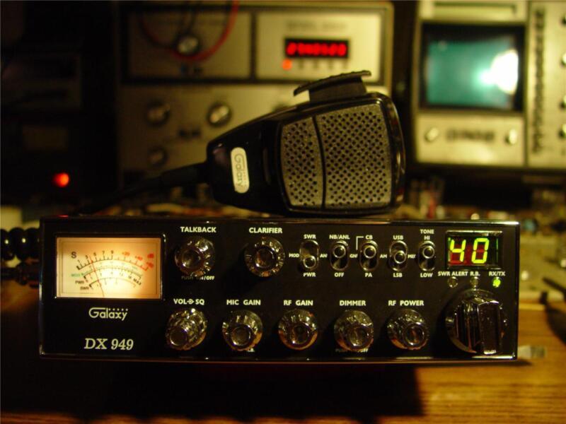 GALAXY DX 949 AM/SSB CB RADIO,SUPERTUNED,POWERFUL((SKIP TALKING^^^ SKY WALKER))