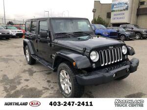 2017 Jeep Wrangler Unlimited Sahara Low Mileage/Leather/Warranty