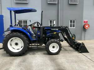Lovol M804 ROPS 80hp 4WD Tractor with 4 in 1 Loader Molendinar Gold Coast City Preview