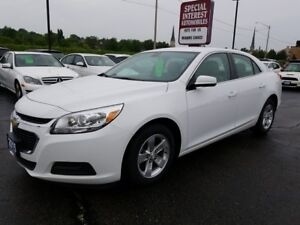 2015 Chevrolet Malibu 1LT ACCIDENT FREE !! ONE OWNER !! BLUE...