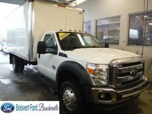 2013 Ford Super duty F-550 DRW CUBE 16 PIEDS