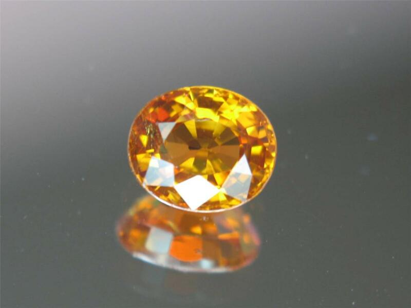 2.33CT VS STUNNUING BRIGHT MANDARIN ORANGE NIGERIAN SPESSARTITE MANDARIN GARNET