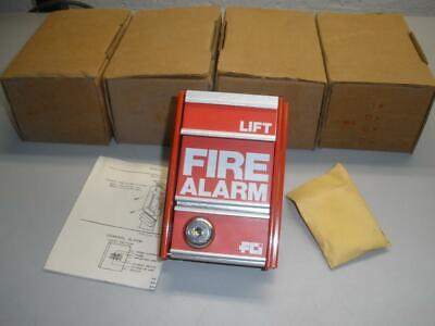 Lot Of 4 Fci Ms-2 Fire Alarm Pull Station New