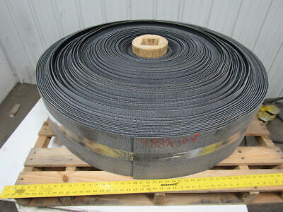 1 Ply Black Rough Top Incline Conveyor Belt 488ft X 10-18 0.275 Thick