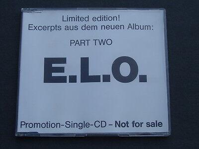 RARE LIMITED ELO PART TWO 1991 GERMAN PROMOTIONAL CD SINGLE HONEST MEN EUROSTAR