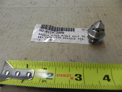 90 Fluid Nozzle For Binks Mach1 Hvlp Gun 45-8900 - .8mm - New Nr - Paint Spray