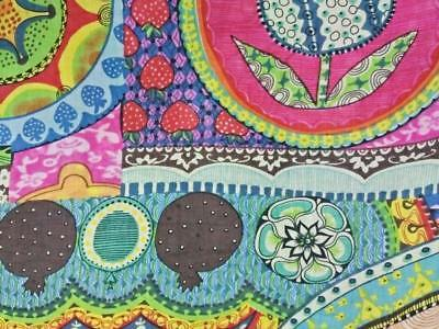 Hand Block Print 5 Yard Fabric 100% Cotton Indian Sewing Dress Material Crafts