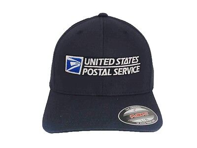 Usps Flexfit Hat Yupoong Structured Twill Cap Us Postal Service Dark Navy Xl Xxl