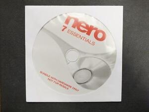 NERO 7 Essentials Software Brennsoftware OEM CD in Papierhülle Suit CD Copy
