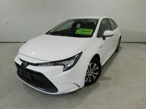 2019 Toyota Corolla 4D51290A0 Hybrid Ascent SportL1 Glacier White Automatic Sedan