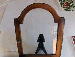 Grandmother Clock Hinged Dial Door,with Hinge & Glass, see Pics for Measurements