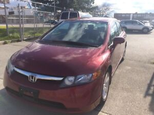 2007 Honda Civic NICE DRIVE,$4488,SAFETY+3YEARS WARRANTY INCLUDE
