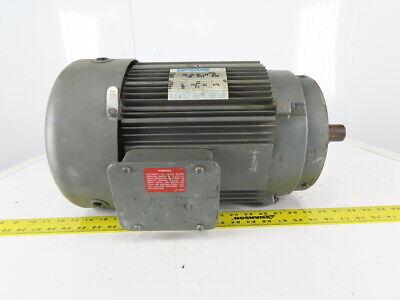 Marathon 10hp Electric Motor 208-230460v 3ph 215tc Frame 1740rpm