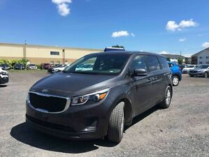 2017 Kia Sedona LX+  CAMERA DE RECUL, 8 PLACES