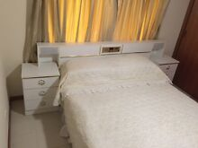 Queen Size Bedroom Suite, Bed, Bed Head, And Dressing Table Rosebud Mornington Peninsula Preview