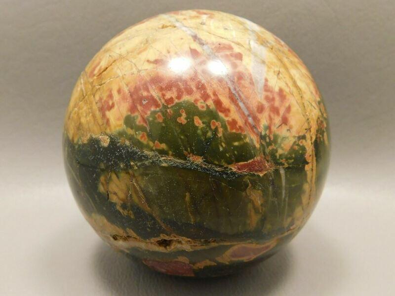 Sphere Cherry Creek Jasper 2.75 inch Stone Mineral Ball China #O8