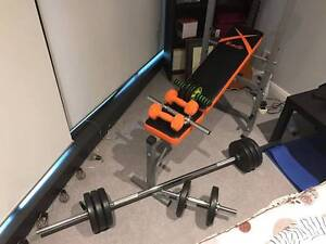 Weight Benches and Barbell&Dumbell and ABS wheel Ryde Area Preview