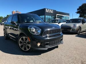 2014 MINI Cooper S Countryman LOUNGE LEATHER JCW PACKAGE REAR SE