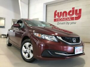 2015 Honda Civic Sedan LX w/heated front seats and a/c ONE LOCAL