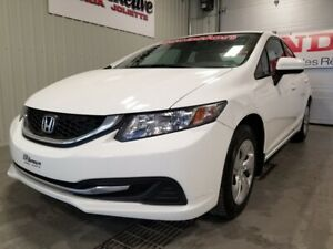 2014 Honda Civic Sedan LX bas kilo bluetooth transmission automa