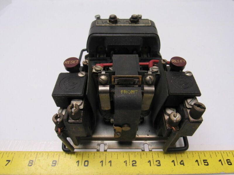 Clark Controller 13U31 BUL 6013 Motor Starter Size 1 Type CY 600VAC