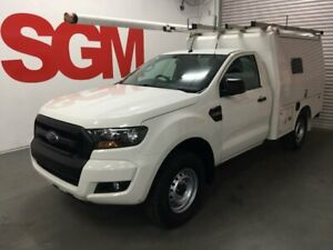 Ford Ranger PX Mk II Single cab 4x4  - Fitted with XL service body (ex-Telstra fitout)  MkII upgrade Seven Hills Blacktown Area Preview