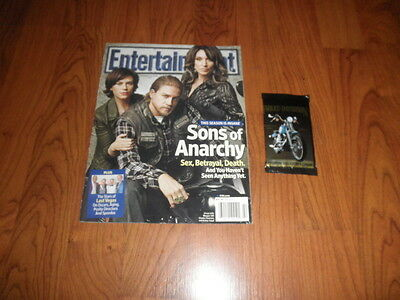 Sons Of Anarchy Katey Sagal Charlie Hunnam  E W Weekly Magazine   Cards