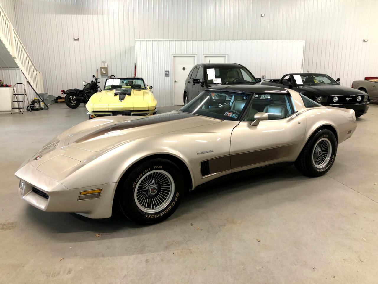 1982 Silver Chevrolet Corvette     C3 Corvette Photo 1