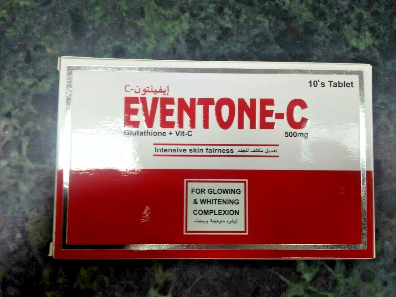 EVENTONE-C TABLETS FOR GLOWING & WHITENING + FREE SHIPPING