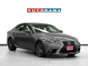2015 Lexus IS 250 4WD Leather Sunroof Backup Cam