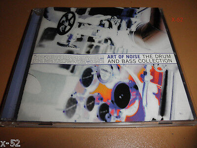 ART OF NOISE cd The DRUM and BASS collection Best of Hits PETER GUNN kiss Opus