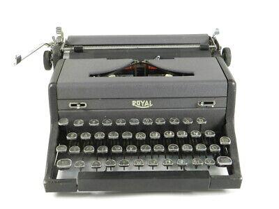 MAQUINA DE ESCRIBIR ROYAL ARROW AÑO 1942 TYPEWRITER SCHREIBSMASCHINE