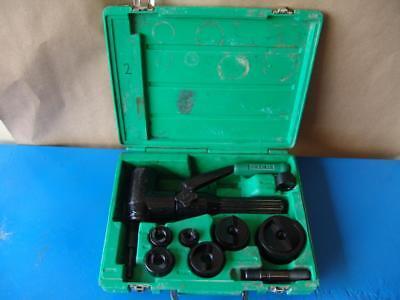 Greenlee 7806sb Hydraulic Punch Driver Set Quick Draw 12 - 2 Slug Buster 2