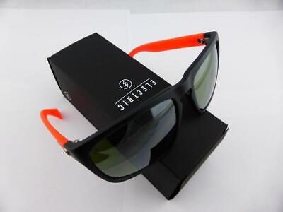 NEW Electric Knoxville XL Mod Red Silver Chrome Mens Square Sunglasses Ret$120