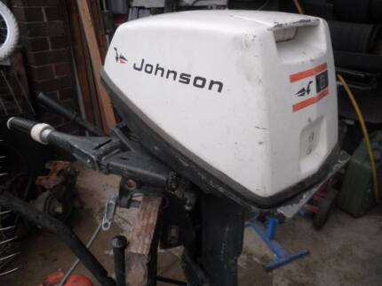 Johnson 6hp. Outboard motor West Lakes Shore Charles Sturt Area Preview