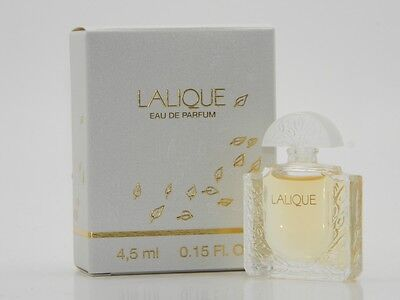 LALIQUE by Lalique 4.5ml 0.15oz EDP Mini Splash New In Box