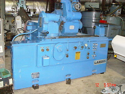 Landis 2ru Univeral Hydraulic Cylindrical Grinder Wswing-down Internal Spindle