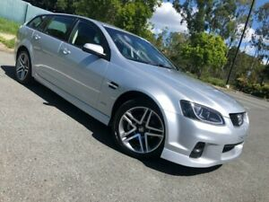 2011 Holden Commodore VE Series 2 SV6 Silver 6 Speed Automatic Wagon Arundel Gold Coast City Preview